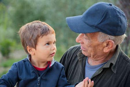 keep an eye on: Child tells a story his grandfather farmer