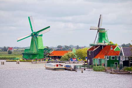 mills: Mills of Zaandam, Netherlands Editorial