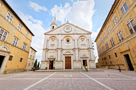pienza: Cathedral of Pienza, Tuscany