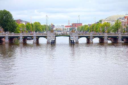 amstel: Amstel canal bridge, Amsterdam