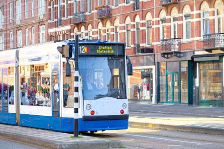 pendular: Surface tramway in Amsterdam, Netherlands