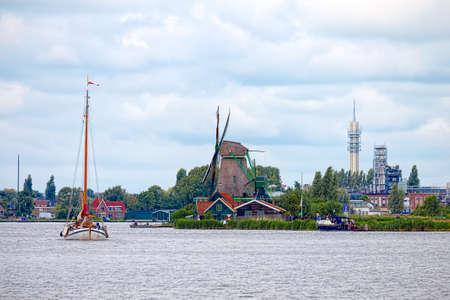 netherlands: Zaandam, Netherlands Stock Photo
