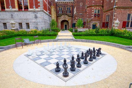 formative: Giant chess library near Amsterdam