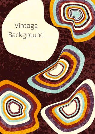 Dirty vintage background.Vector illustration.