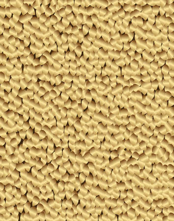gold: Background with gold petals.Vector illustration.