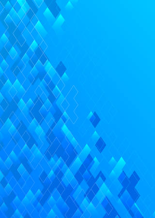 Abstract blue background with place for text.Vector illustration. Иллюстрация
