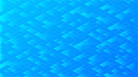 Abstract blue background with geometric shapes.Vector illustration.