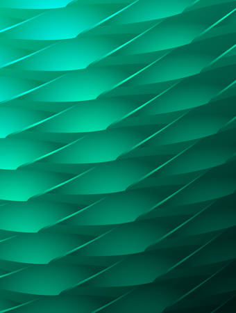 Abstract green background with futuristic pattern.Vector illustration.