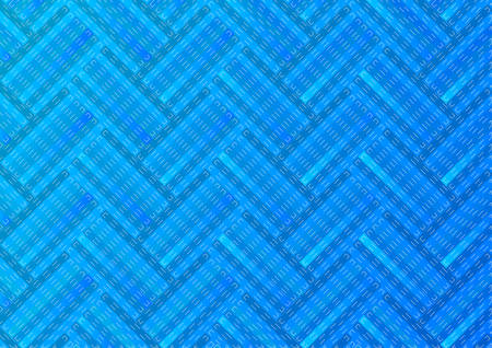 Abstract background with blue stripes.Vector illustration.
