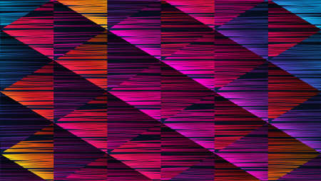 Abstract background with a colorful pattern.Vector illustration. Archivio Fotografico - 128610033
