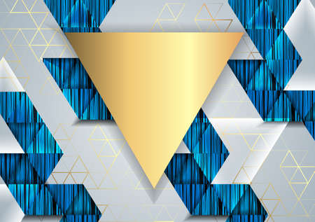 Abstract background with geometric elements.Vector illustration.