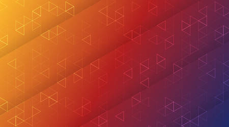 Geometric pattern with a gradient