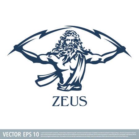Zeus vector illustration
