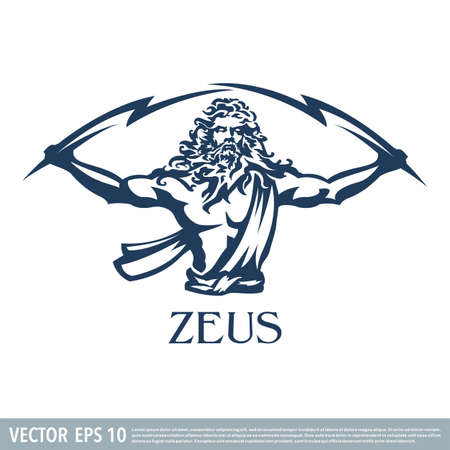 Zeus vector illustration