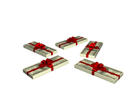 dollars as a gift