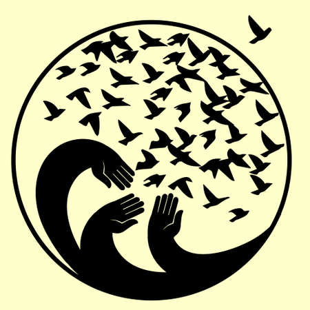 kindness: A symbol of peace, freedom and kindness