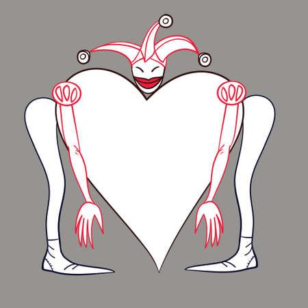 Ilustración Vectorial De Color Para El Día De San Valentín ...