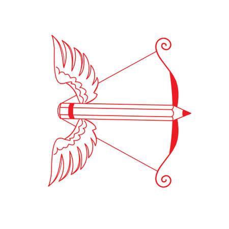 weapons: original vector illustration art weapons Illustration