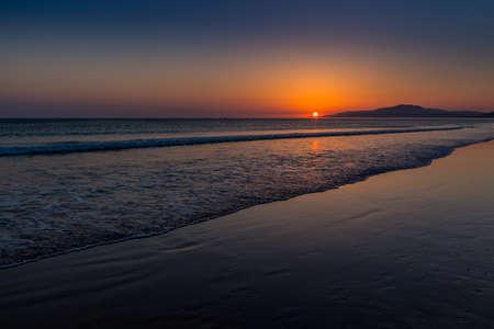 tarifa: Sunset over the ocean, Tarifa, Spain