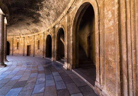 the  alhambra: Alhambra Islamic Royal Palace, Granada, Spain