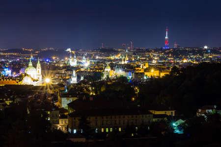 stare mesto: View over Stare Mesto district at Prague.