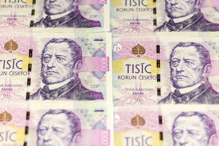 korun: Czech money 1000