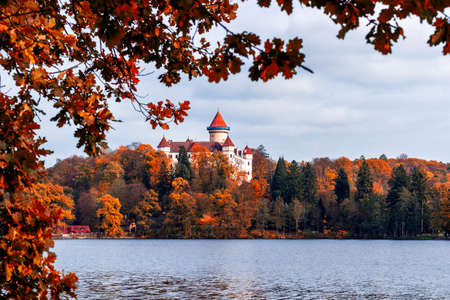 Historic medieval Konopiste Castle in Czech Republic ( central Bohemia, near Prague )