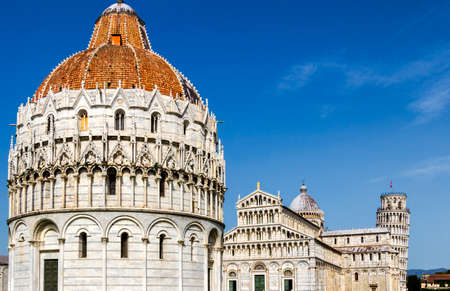 Pisa Cathedral at the square of miracles, Tuscany, Italy