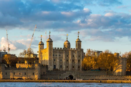 the british museum: Tower of London located on the north bank of the River Thames in central London, UK Editorial