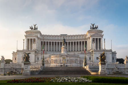 altar of fatherland: Altar of the Fatherland, Altare della Patria, also known as the National Monument to Victor Emmanuel II, Rome Italy