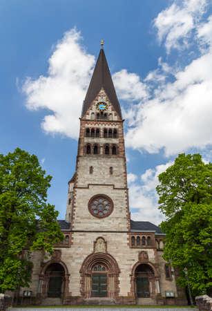 Architecture of Ettlingen. Ettlingen, Baden-Wurttemberg, Germany.
