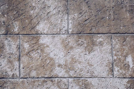 Pavement tiles, texture background. Gray Square Pavement. Seamless Tileable Texture. Old paving tiles background texture