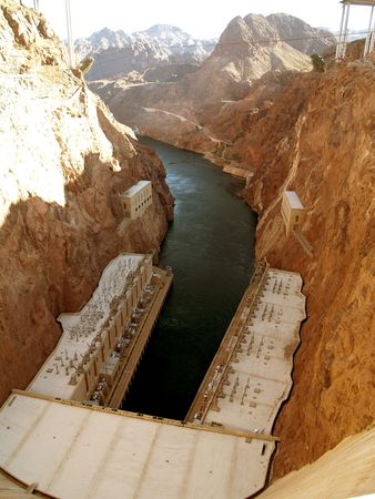 Here is where they let it loose to flood the bottom of the Colorado River redistributing sand and sediment. photo