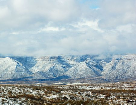 Guadalupe Mountains Standard-Bild - 2154473
