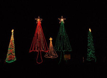 Weihnachten auf dem Pecos River in New Mexico Standard-Bild - 2157957