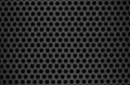 softly: Background of black hexagons with gray edge softly unfocused Stock Photo