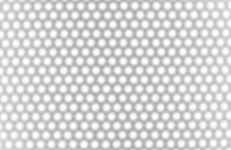 softly: Background of white hexagons with gray edge softly unfocused