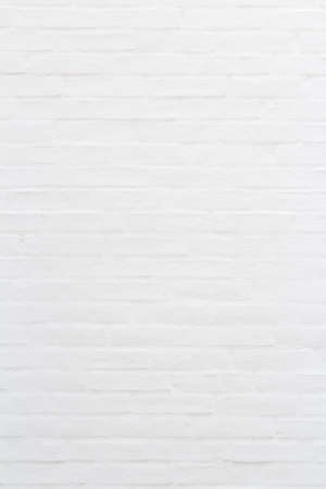 White brick wall for texture or background, vertical 版權商用圖片