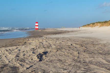 Danish lifeguard tower at Tversted beach