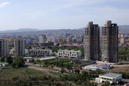 exterior: Overlooking downtown Ulan Bator Editorial