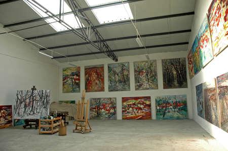 skylights: Artists studio Editorial