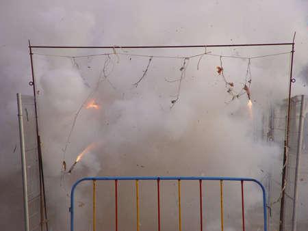 banger: firework display_3 Stock Photo
