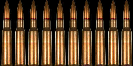 extensively: 7.62x54r rifle cartridge for Russian made Mosin Nagant rifle arranged in seamless tileable pattern.  This was ammunition used extensively by the red army and their snipers during world war two the Great Patriotic War.