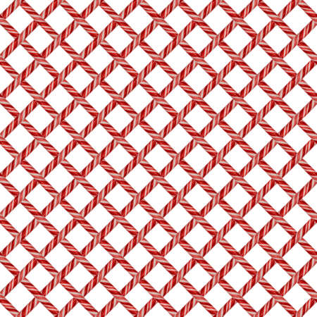 repeating tileable pattern of candy canes suitable for wallpaper