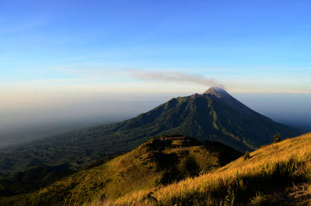 magnificence: The Magnificence of Merapi Stock Photo