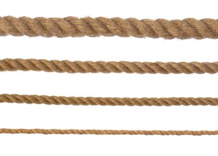 4 different ropes Standard-Bild