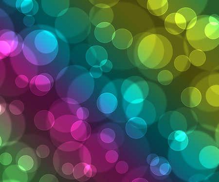beautiful colored background bokeh, blue, yellol, green, pink colors