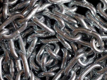 new shiny chain Reklamní fotografie