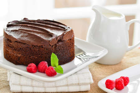 Home made chocolate cake