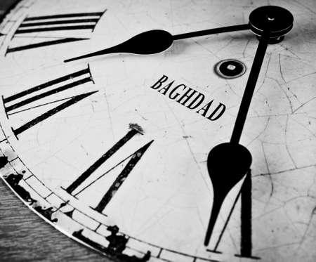 Baghdad time concept